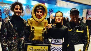 Andrea Echeverri en los Grammy