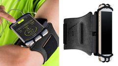 El mejor brazalete de móvil para correr gira 180 grados y tiene compatibilidad universal