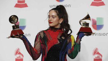 Grammy Latinos 2018: Lista completa de ganadores con Rosalía, que logró dos premios por Malamente.