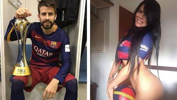 Gerard Piqué y Miss Bumbum (Instagram)