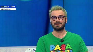 Imagen de Pablo Díaz en 'Espejo Público'.