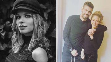Imágenes de Núria Tomás, hija del empresario Enrique Tomás y expareja de Gerard Piqué y de Gerard Piqué con Shakira.