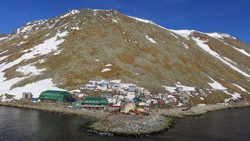 Diómedes menor, perteneciente a Alaska.