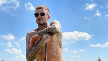 Imagen de David Beckham.