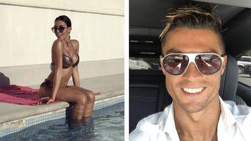 Cristiano se relaja en Ibiza con Georgina Rodriguez. Fotos: Instagram