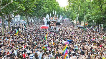 Las calles de Madrid no se llenarán de color.