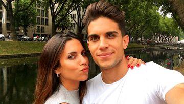 Melissa Jiménez y Marc Bartra piden un regalo solidario por su boda