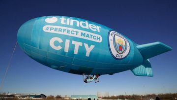 Tinder, el nuevo patrocinador del Manchester City de Guardiola