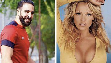 Adil Rami y Pamela Anderson pillados juntos. Foto: Instagram