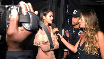 Primera entrevista juntos de Neymar y Bruna Marquezine