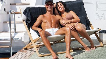 Cristiano Ronaldo y Georgina Rodríguez disfrutan de Mallorca.