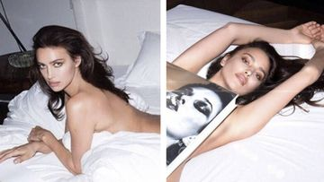 Irina Shayk posa desnuda en la cama para Mert Alas y Marcus Piggott. Foto: Instagram
