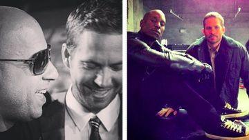 Vin Diesel y Tyrese Gibson recuerdan a Paul Walker. Foto: Instagram