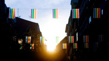 Las calles del madrileño barrio de Chueca