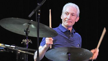 FILED - 12 January 2010, Bavaria, Munich: Charlie Watts, drummer of the Rolling Stones, makes a guest appearance at the Variete GOP with the band ABC & D of Boogie Woogie.  The drummer of the legendary rock band Rolling Stones, Charlie Watts, is dead. Photo: picture alliance / dpa *** Local Caption *** .