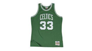 Larry Bird's 33 is a Boston Celtics legend.