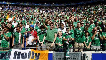 La afición irlandesa se gana el cariño de las redes sociales