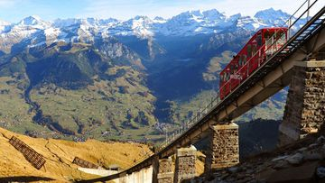 La escalera más larga del mundo está en Suiza.
