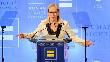 Meryl Streep responde con ironia y dureza a Donald Trump. Imagen: YouTube