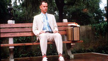 Imagen de Tom Hanks como Forrest Gump.