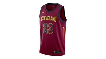 LeBron James, like Michael Jordan, wears the number 23.