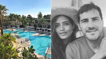 Imágenes del complejo hotelero Forte Village Resort de Cerdeña y de Iker Casillas y Sara Carbonero durante sus vacaciones de junio de 2018 en este resort.