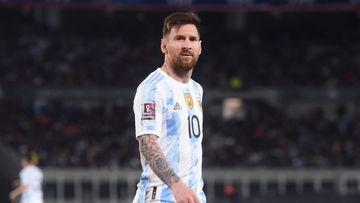 Imagen de Messi.