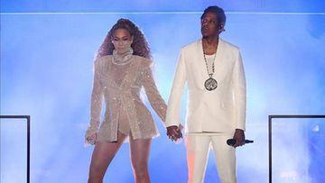 Un espontáneo provoca el pánico en el último concierto de Beyonce y Jay- Z
