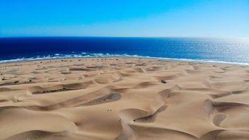 Playa de Maspalomas.