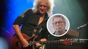 Brian May no comparte los postulados de Clapton.